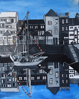 Plymouth Harbour 2013 SOLD
