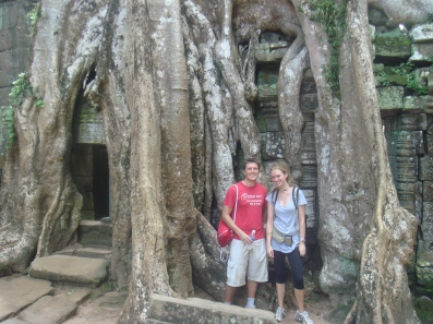 At the jungle temple