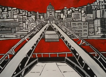 Millennium Bridge 2012 30x40cm
