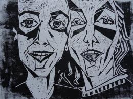 Rachel and Nina 2001