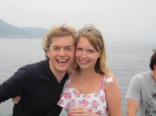 Dave and Katherine in HK
