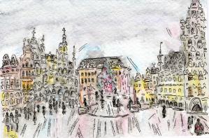 La Grand Place Nov 2013