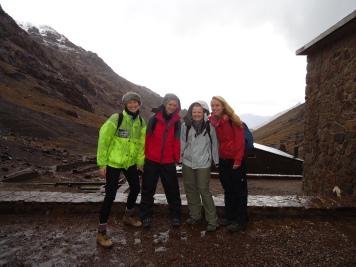 Base camp of Mount Toubkal