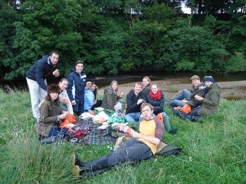 Birthday picnic at Warcop