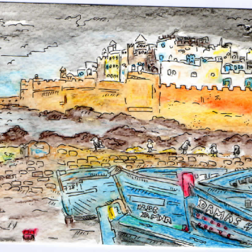 Essaouira Nov 2013 SOLD
