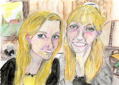 Baz and I Nov 2013