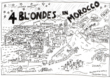 4 Blondes in Morocco Nov 2012