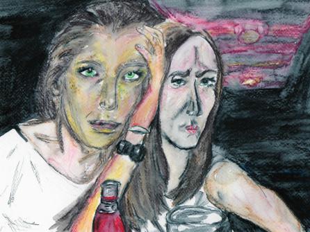 Sarah and friend Nov 2013