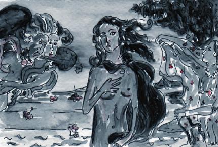 34- Birth of Venus