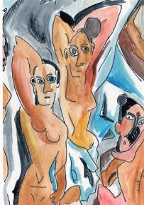35-Les Demoiselles d'Avignon