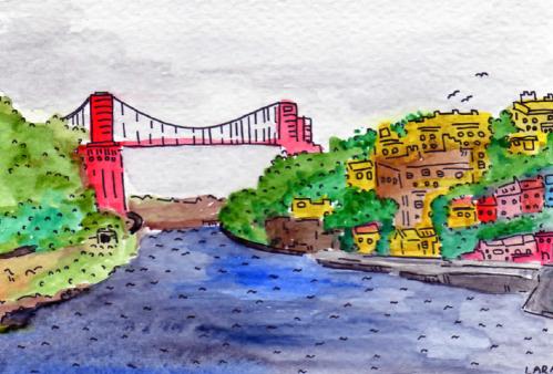44- Clifton Suspension Bridge, Bristol