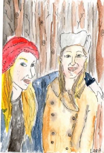 70- Christmas sisters