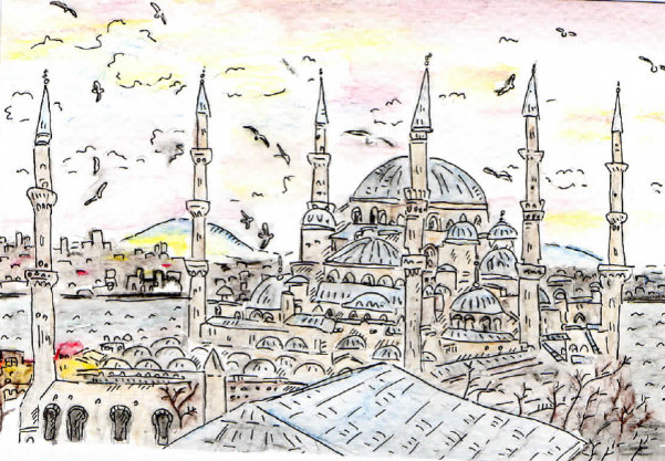 Blue Mosque Dec 2013