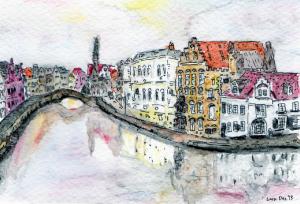 Brugge reflections Dec 2013