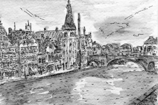 Ghent Canal Dec 2013