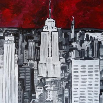 New York City Dec 2013 30x40cm