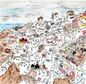 Oia Santorini Dec 2013