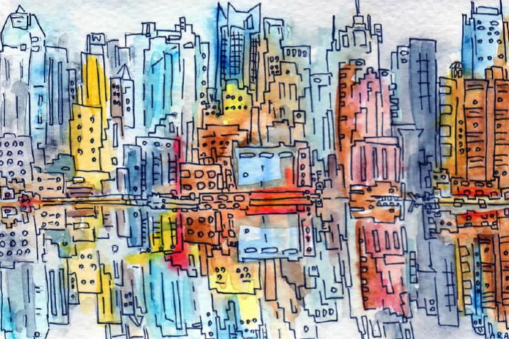 20- New York Reflections