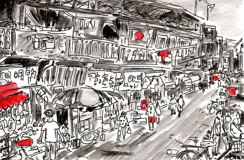 37-Shanghai street scene