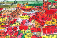 42-Brussels , Red Roofs
