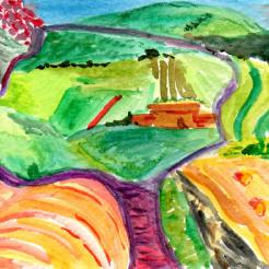 54- North Yorkshire 1997 David Hockney