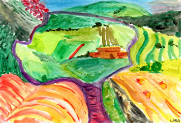 54- North Yorkshire 1997 David Hockney
