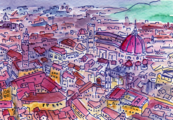 55-Florence inspired by A room with a View