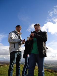 looking over Loch Lomond