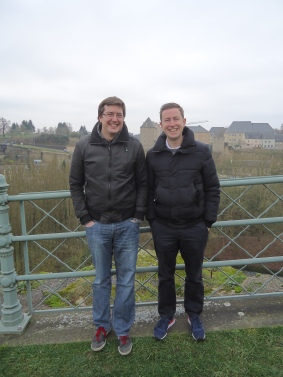 On the casemates in Luxembourg with Simple Simon and the Baron