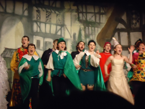 Robin Hood Panto by two shades of blue