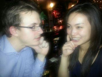 Richard and Ayumi
