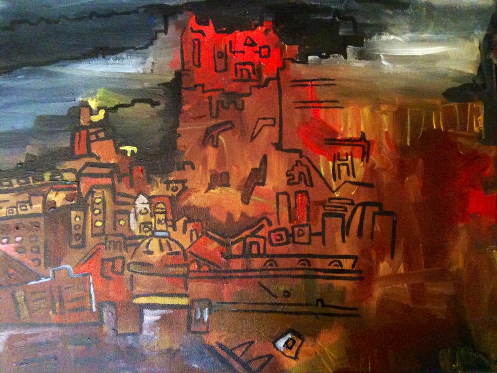 Edinburgh Castle Jan 2014 (not yet finished)