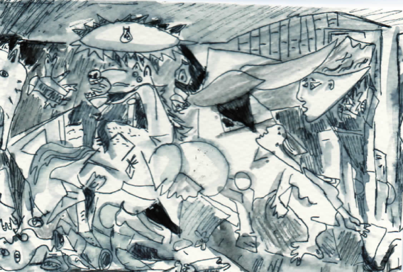 64A- Guernica by Picasso