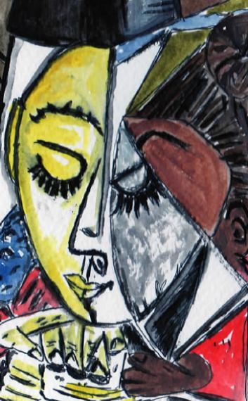 67A- Picasso Portrait