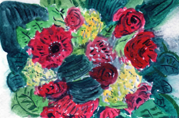 83- My Valentines Flowers