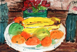 84- Fruit surrounded by Mao