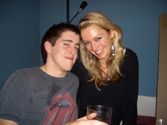 Reese and I (trainee accountants 2006)