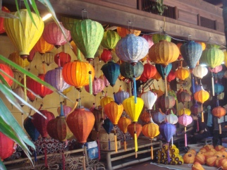 Hoi An lanterns during the day