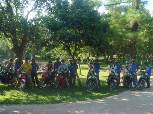 Motorbiking in Nam