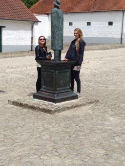 Outside the Folon foundation at Chatuea de la Hulpe