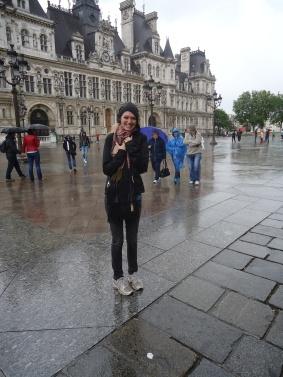 Spot of rain in Paris