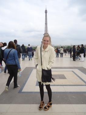 The Eiffel tower, bien sur