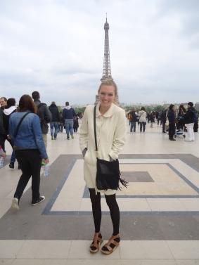 The Eiffel tower, bien sur