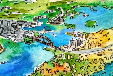 133a- Sydney water city