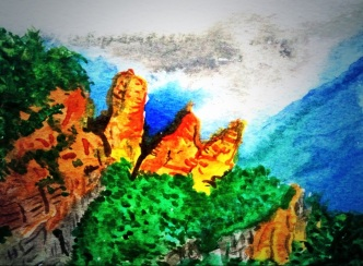 148 - The Three Sisters, Blue Mountains