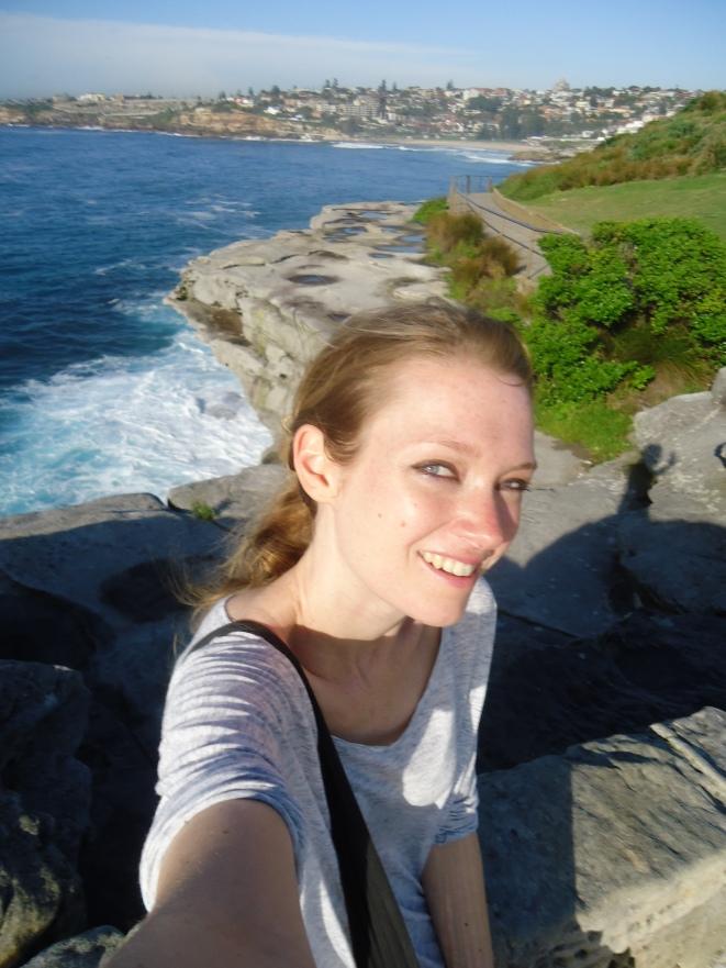Near Bondi Beach on the coastal path