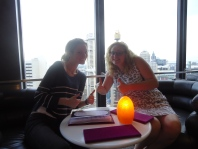 At the rotating bar in Sydney