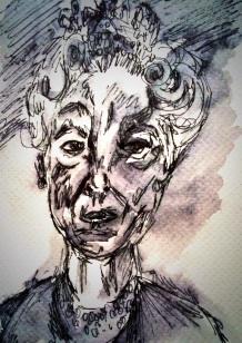 177- Lucien Freud Queen Portrait