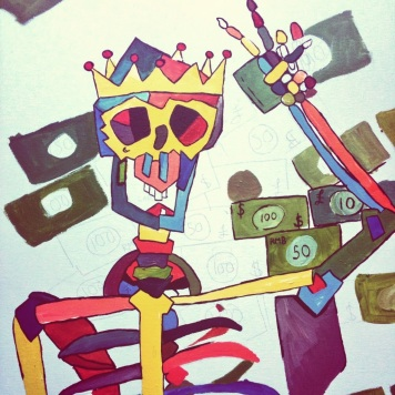 Cash is King.. in Progress