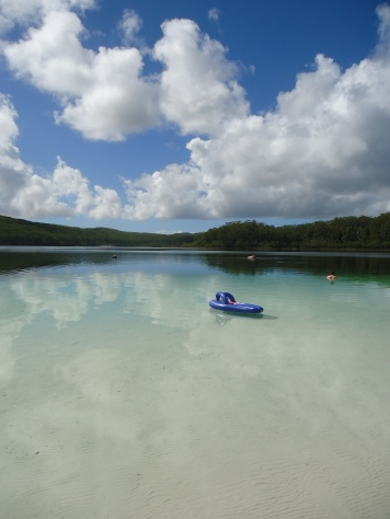 Flip Flops in Lake Mackenzie